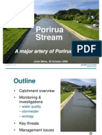 Porirua Harbour Seminar Series - Pres 4 - GWRC Presentation on Porirua Stream Condition
