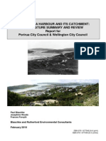 Porirua Harbour and Catchment - Literature Review Report