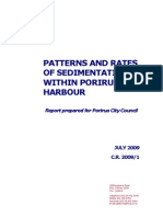 Porirua Harbour Patterns and Rates of Sedimentation Report