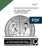 Army Counterintelligence Liaison Activities