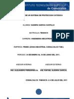 Proyecto proteccion catodica
