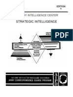 Army Strategic Intelligence