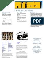 Y9 Options Leaflet 2013