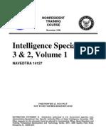 Navy Intel Specialist 3 & 2 Vol 1
