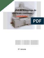 Bobinados de máquinas de corriente continua (ondulado