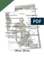Literatura Gauchesca y Actividades