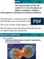 CH 5-1 & 5-2 Cell Cycle