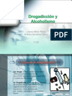 Drogadicción y Alcoholismo