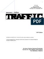 Army Military Police Traffic Operations