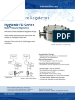 Equilibar Hygienic FD Series Back Pressure Regulator