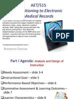 Breeanna D. Instructional Design-EMR