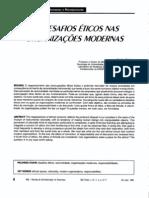 Texto 2 - Ética e organizações