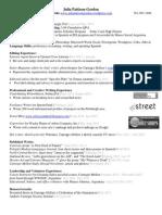 Resume EditingPublishing
