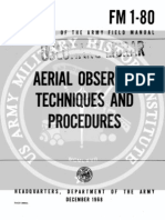 Army Vietnam Aerial Observer Techniques