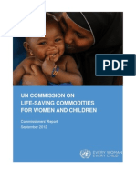 UN Commission for Life Saving Commodities_Commissions Report