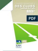 Ligue 1 - DNCG - Sintesi Bilanci 2011/2012