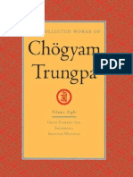 The Collected Works of Chogyam Trungpa Vol.8