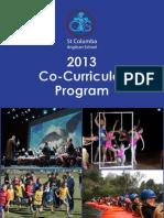 St Columba Anglican School Co Curricular Handbook 2013