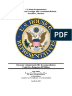 IG reports re federal spending