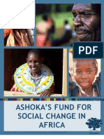 Ashokas Fund for Social Change in Africa
