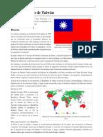 Estatus político de Taiwán
