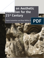 """Essays on Aestatic Education for the 21th Century"""