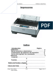 Impresoras Matriciales y a Chorro de Tinta (SSI)