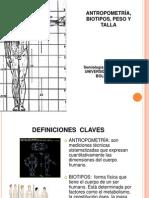 Antropometrias, Biotipos, Peso, Talla