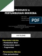 Reproduksi n Pertumbuhan Mikroba