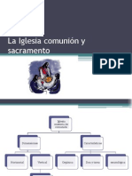 La Iglesia comunión y sacramento.pptx