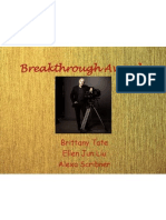 breakthrough awards presentation