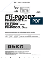 Pioneer FHP-6050-UB Service Manual