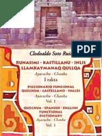 Diccionario Quechua-Castellano-Inglés