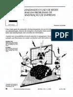 DESVENDANDO O USO DE REDES NEURAIS EM PROBLEMAS DE ADMINISTRAÇÃO DE EMPRESAS