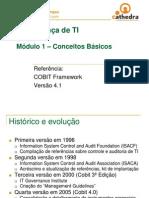 COBIT 1 - Conceitos básicos