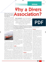 Why a Divers Association