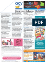 Pharmacy Daily for Wed 06 Mar 2013 - Symbion Melbourne expansion, J
