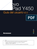 Lenovo IdeaPad Y450 User Guide V2.0 (Spanish)