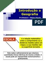 Aula 04 - Geografia - Escalas