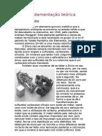 relatório de quimica da pilha