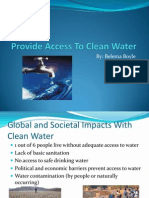 Provide Access to Clean Water Updated (1)