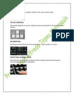 Teclas Basicas Uso Del Teclado