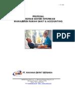 Proposal Integrasi Sistem Informasi Manajemen Rumah Sakit dan Accounting
