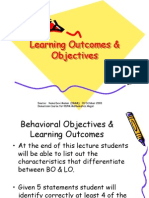 Behvr Objectives & Learning_Outcomes 2003