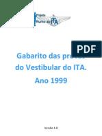 126 Gabarito ITA 1999