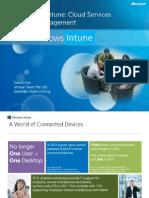 Windows Intune 2013