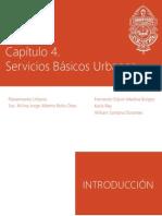 Capítulo 4. Servicios Básicos Urbanos
