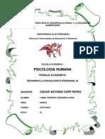 Desarrollo Psicologico Personal III - Yamal Cespedes Uvidia