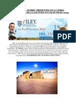 OBRAS DE H. DUBRIC PRESENTES EN LA FERIA INTERNACIONAL DE LA LECTURA YUCATÁN FILEY 2013 (2)