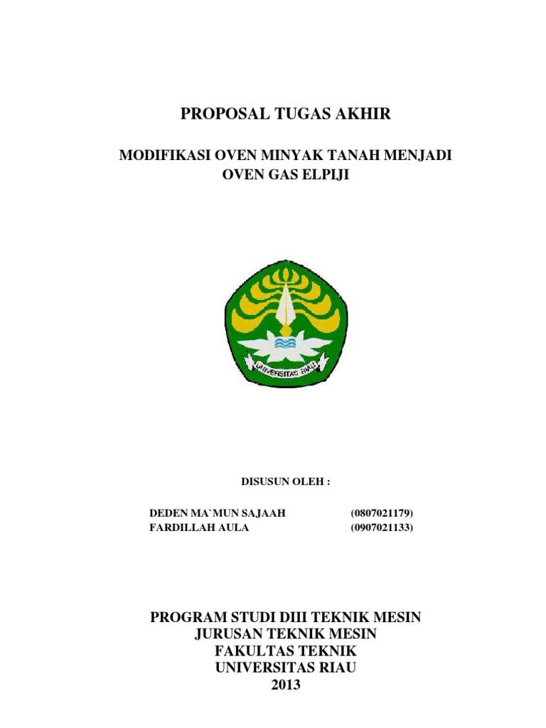 Proposal Tugas Akhir